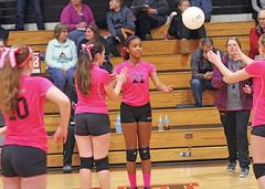 IMG_7713 (SJH Foto) Tags: girls club team sub teenagers teens rotation volleyball substitution tweens u14s
