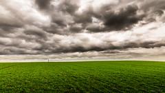 Sous les cieux... (Lollivier Stphane) Tags: storm gris nikon champs ciel nuage croix tempete d3200