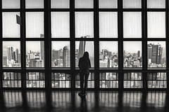 Tokyo tower (Fernacinguer1981) Tags: blancoynegro japan contraluz tokyo blackwhite streetphotography viajes tokyotower japn geometra