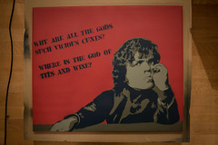 why are all the gods such vicious cunts? - Tyrion Lannister stencil (RuinOfDecay!) Tags: street red 3 streetart game art ice fire three is stencil all tits wine god song decay ruin canvas peter where layer gods why 1855mm such vicious wein thrones cunts schablone dinklage tyrion leinwand titten lannister canoneos60d ruinofdecay