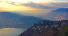 Lake Como Lombardy Italy 13th February 2016 (loose_grip_99) Tags: sunset italy como mountains alps february lombardy 2016