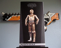 The Golden Droid (Getoninja) Tags: scale star figure 16 wars 12 sideshow droid c3po protocol