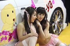 Tokyo Auto Salom 2016 (carlotorinese) Tags: sexy feet girl japan fetish japanese shoes hostess pantyhose japon nylon