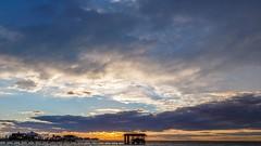 Galveston Sunset 1/16/16 (Sandro Giorgi) Tags: sunset sea seascape galveston timelapse video canon6d sandrogiorgi sandrogiorgiphotography