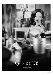 DINNER WITH GISELLE (Angie_Brie) Tags: giselle fr livingdoll fashionroyalty fashionroyaltydoll nuface energeticpresencegiselle nuface2015collection