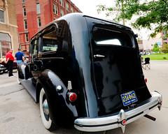 1937 Packard hearse (hz536n/George Thomas) Tags: summer michigan august canon5d flint hearse packard 2014 ef1740mmf4lusm cs5 backtothebricks