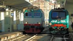 e652-017 e464-521 (andrewcabassa) Tags: sony transito stazione treno tigre trenitalia ferrovia fotocamera elettrica savona locomotore e652 e464 xmpr livrea binario8 dsch400