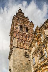 Jerez de Los Caballeros (Vctor C.M.) Tags: building church edificio iglesia medieval cielo nubes turismo cultura jerez orden templarios extremadura cruzadas deloscaballeros