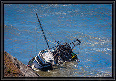 Cape Blanco State Park - Fishing Boat in Trouble (Rick-Willis) Tags: usa horizontal oregon totalphoto ononesoftware