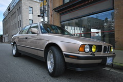 BMW E34 525I (lowston) Tags: cars car bmw bbs classiccars e34 525i kashmere bbswheels bmw525i germancars classicgermancar bmwe34 yellowheadlights classicbmw bmw525ie34 bmwlove bmwlife style5wheels kashmerebeige bmwe34withstyle5wheels bmwyellowheadlights bmwe34kashmerebeige