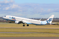 Flybe Embraer 190 G-FBEF at Cardiff Rhoose (SimonFewkes) Tags: takeoff embraer190 flybe cardiffairport avgeek gfbef cardiffrhoose