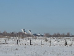 -76 (sky_lik74) Tags: il airliners il76      russiaairforce   76   76