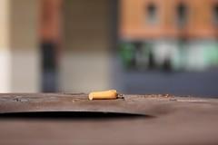 IMG_4157 (crimaraffi) Tags: sigaretta dettaglio portacenere mozzicone