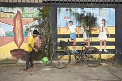 Defiance (Photosightfaces) Tags: boy playing ball kid sri lanka stop srilanka bounce colombo bouncing lankan refusal slaveisland