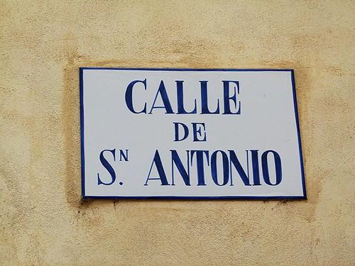 Calle de San Antonio - Segorbe