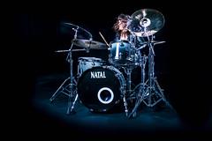 Lorna for Zildjian (Madeleine Penfold) Tags: music natal female for kill drum drummer kit madeleine hyena drumkit lorna zildjian penfold the