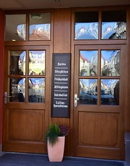 Perfectly cleaned windows! (:Linda:) Tags: reflection window germany town thuringia todaysspecial quadruple browndoor themar