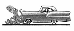 1955ChevyBelAir (Don Moyer) Tags: auto chevrolet moleskine car ink notebook automobile drawing chevy octopus moyer brushpen donmoyer