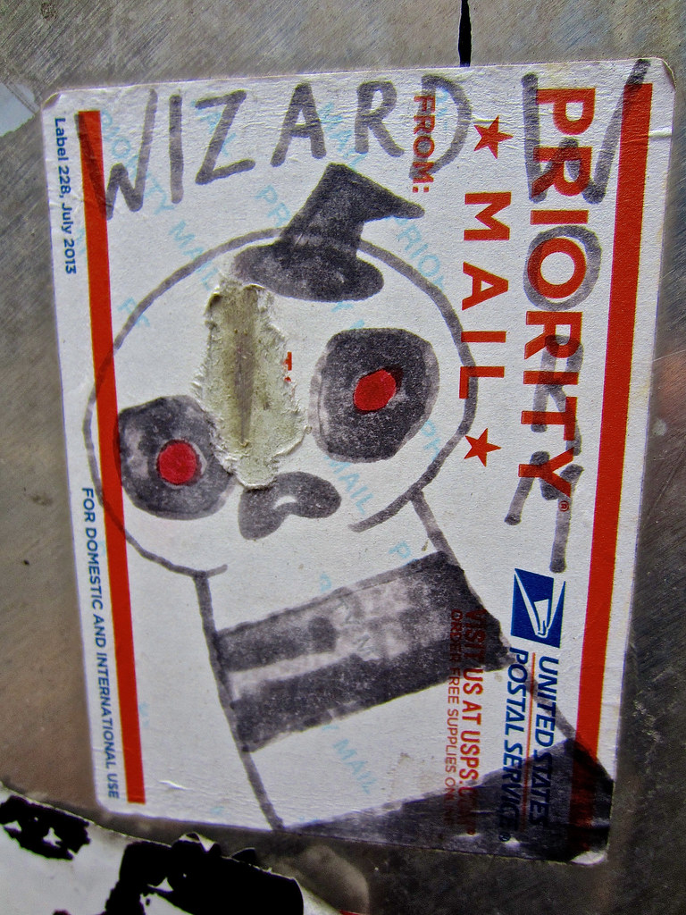Priority Mail Sticker Graffiti The World's Best Photo...