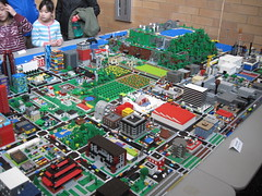 Macro Micropolis at the Science Museum of Minnesota 20 March 2016 (The Original Max Braun) Tags: city usa minnesota spring lego stpaul twincities saintpaul mn minn sciencemuseum lug stp 2016 sciencemuseumofminnesota ramseycounty microscale micropolis tclug twinlug twincitiesmetroarea legousergroup spring2016