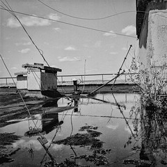 Dachpool (naturalbornclimber) Tags: urban bw decay radiation nuclear ukraine hasselblad disaster medium format exploration bnw zone chernobyl exclusion urbex tschernobyl pripyat hasselblad503cx prypjat