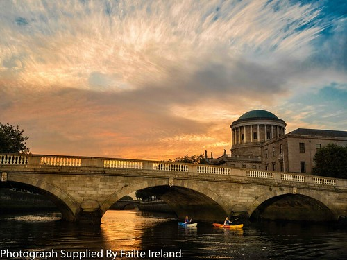 River Liffey - Four Courts