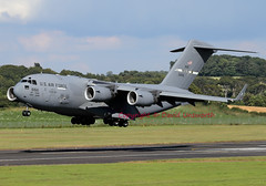66156 (David Unsworth (davidu)) Tags: uk plane airplane scotland airport aircraft aviation military jet airline travis c17 boeing globemaster usaf airliner prestwick usairforce pik jetliner egpk glasgowprestwickinternationalairport boeingc17globemaster davidunsworth 66156 prestwickinternational daviduair