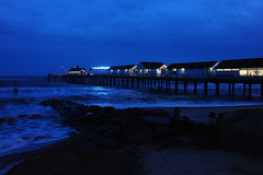 Southwold pier at night (dark_dave25) Tags: winter house cold fun weekend windy february southwold aldeburgh 2016