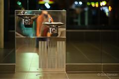 Abreuvoir (guysamsonphoto) Tags: metal iso3200 shiny reflexions reflets stainless highiso isolev rokinon85mmf14 guysamson sonyalpha7rmkii