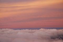 above the clouds / sunset (twurdemann) Tags: travel sunset sky newyork clouds airplane newjersey unitedstates windowseat newarklibertyinternationalairport porterairlines procontrast nikcolourefex detailextractor fujixt1 2016tripnewyork