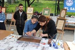 IMG_9217 (Objektife Düşenler) Tags: el mehmet bayrak tirebolu kutlu yüksek haftası meslek sergisi okulu sanatları dağum