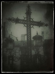 """(QuietWalker """"crisis on Mars"""") Tags: winterinspring easter blackwhite bw 2015 2016 polaroids polaroid eyephoneography phoneography dark sonyxperiat xperiat sony lostwalker cold textura texture march marzo convalescenceperiod2015 convalescenceperiod"""