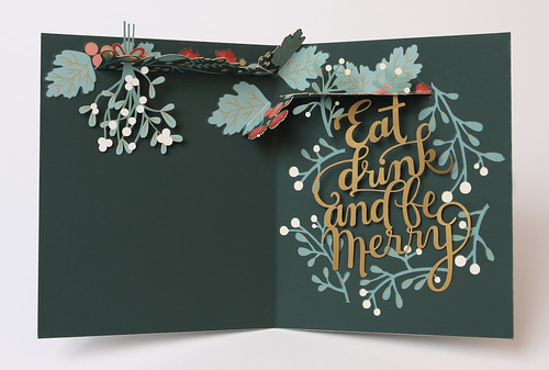 Holiday Winner — UWP LUXE, Pure Alchemy (card title: Eat, Drink, and be Merry)