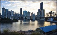 Brisbane Story Bridge at Sunsetting-1= (Sheba_Also) Tags: bridge brisbane story sunsetting