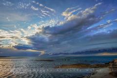 sky explosion - shelf cloud formation (betty wiley) Tags: ocean storm beach weather coast capecod massachusetts newengland cape cod painescreek meteorlogical shelfcloud bettywiley
