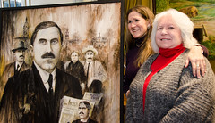 Joe McGarrity's Granddaughters and Portrait