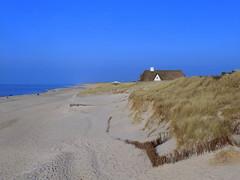 Hidden Behind The Dunes (ivlys) Tags: blue sea sky beach nature strand germany landscape island deutschland sand meer dune himmel insel northsea sylt landschaft nordsee allemagne düne schleswigholstein ivlys