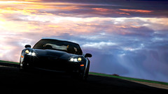 Horizon (rickyboy123) Tags: pictures wallpaper sky 6 3 black cars sports photoshop track desert 5 background horizon 4 7 games headlights racing international exotic willow springs gran hd corvette circuit turismo playstation edit c6 raceway z06 ps3 2016 c7 ps4