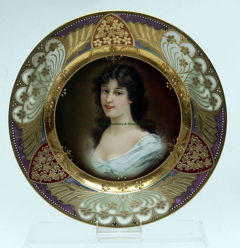 Royal Vienna Portrait Plate - $440.00 (Sold August 28, 2015)