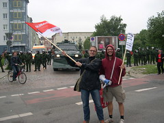 DSCN0897 (kbj102) Tags: germany protest police summit warming rostock global g8 anticapitalism anticapitalist heiligendamm