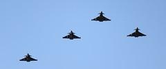 Griffin Strike (hanley27) Tags: fighter aircraft jet l f4 canon70200mm eurofightertyphoon rafleeming dassaultrafale