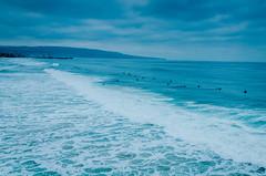 Hermosa Beach, California - April 2016 (scaturchio) Tags: ocean california usa beach pier wind surfing windsurfing hermosa hermosabeach beachhouse massimo