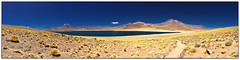 Laguna Miscanti & Miniques Panorama, San Pedro de Atacama (B.YAO Travel Photos) Tags: chile sanpedrodeatacama miniques lagunamiscanti iphone6s
