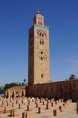 Marrakech - Koutoubia Mosque (steve_whitmarsh) Tags: africa mosque morocco marrakech