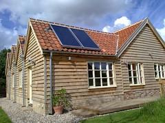 Solar thermal gravel (C) Norfolk Solar