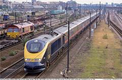 373001GB_Peterborough_270700 (Catcliffe Demon) Tags: uk eurostar emu railways cambridgeshire whiterose gner eastcoastmainline ecml nol electricmultipleunit greatnortheasternrailway class373 dualvoltage ukrailimages2000 25kvac northoflondoneurostar