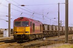 EWS 60022 (bobbyblack51) Tags: british railways ews class 60 brush mirrlees type 5 coco diesel locomotive 60022 falkland yard ayr 1997