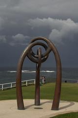 IMG_4740-sculpture storm cloud-Coogee-A (geoffgleave) Tags: cloud storm beach coast sydney coogee