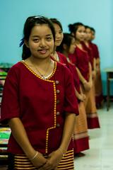 Girls in the Dormitory 6055 (Ursula in Aus - Away) Tags: thailand thep maehongson