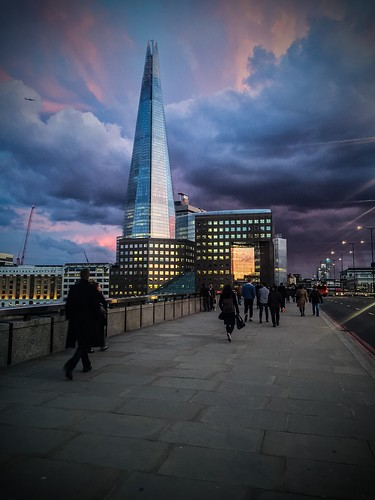 London Bridge & The Shard at sunset